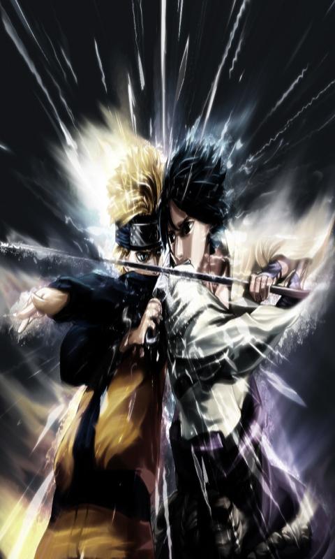Free Naruto Sasuke Touch Live Wallpaper APK Download For