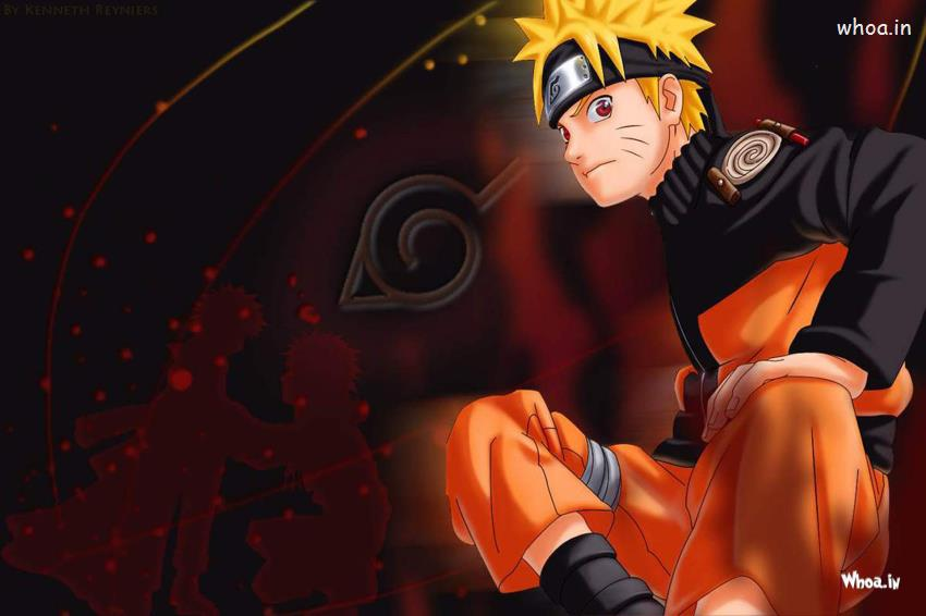 Naruto Shippuden Engry Face HD Wallpaper