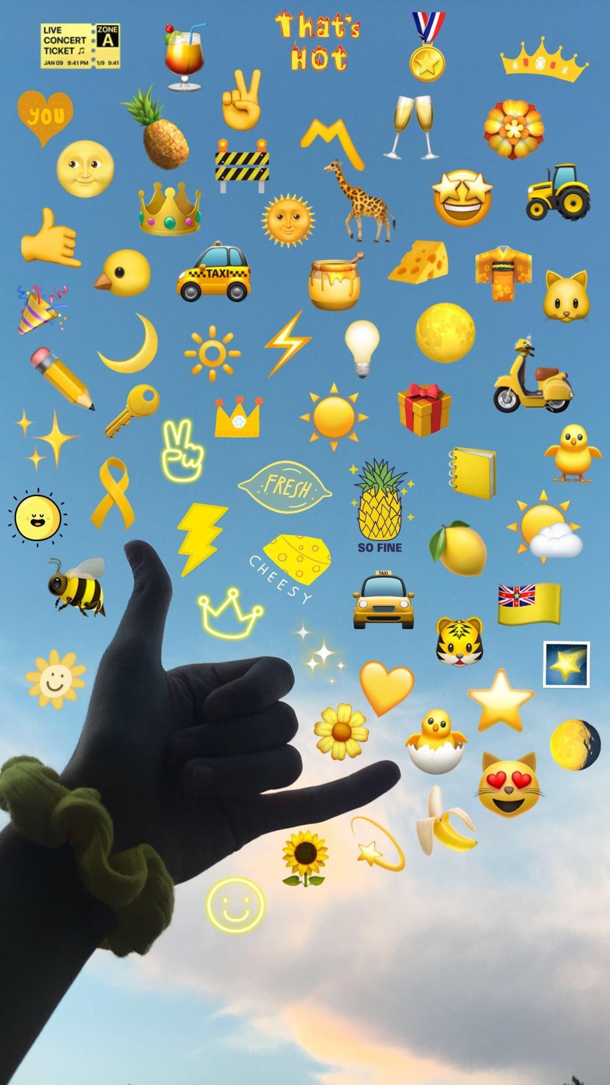 Wallpaper Of Emojis Posted By Samantha Mercado