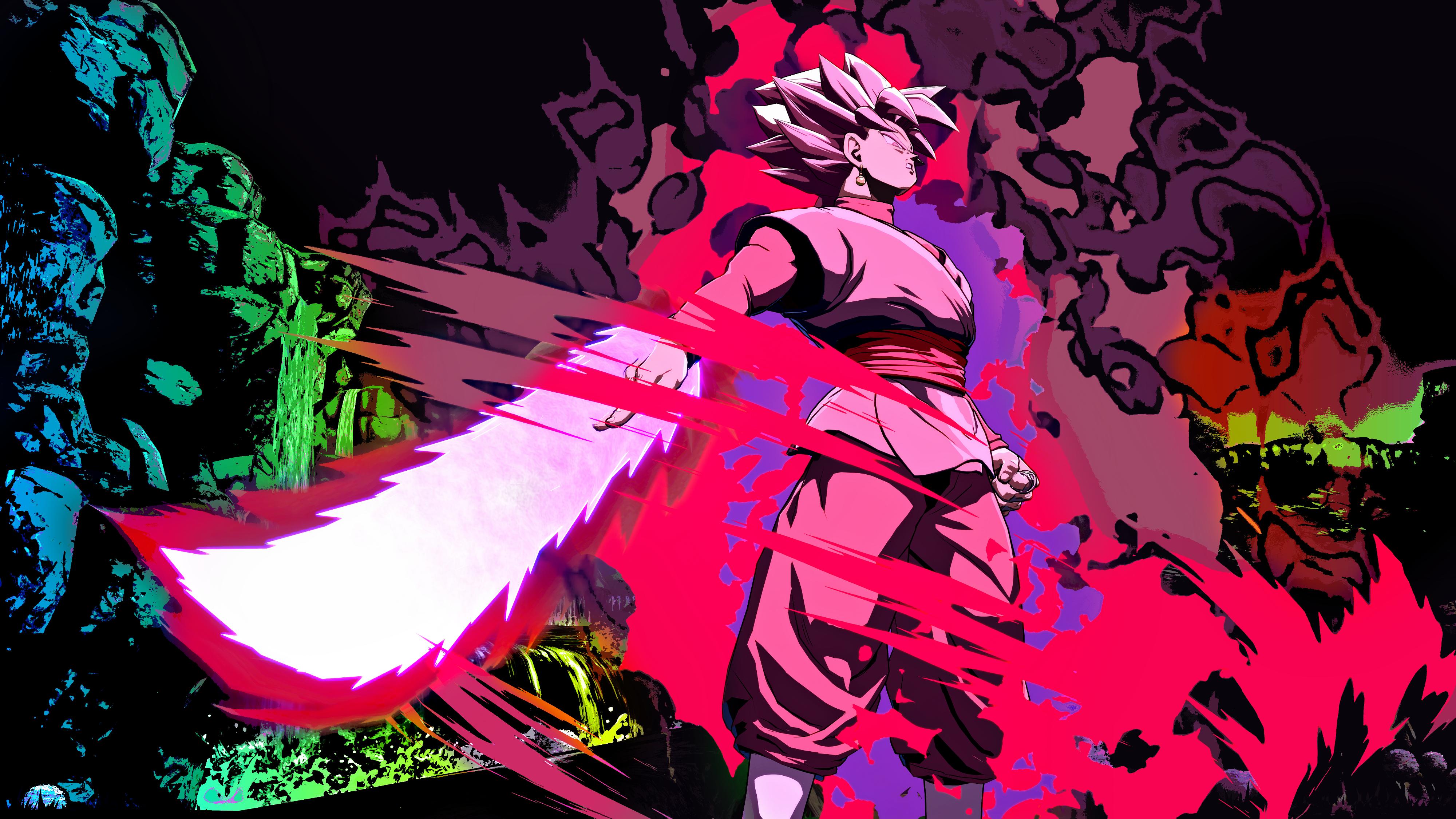 Goku Black 4K Wallpaper dragonballfighterz