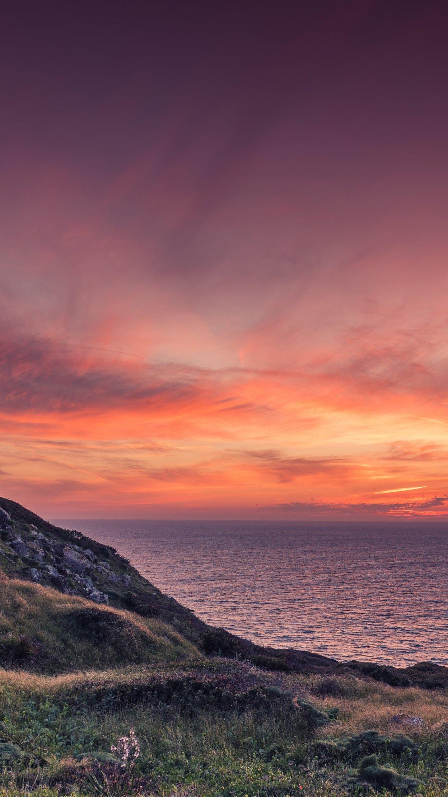 Ocean Sunset Ocean Sunset Wallpaper Iphone, Hd Wallpapers