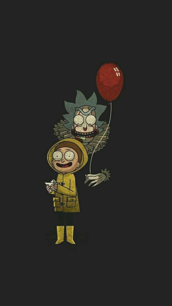 Wallpaper Rick And Morty