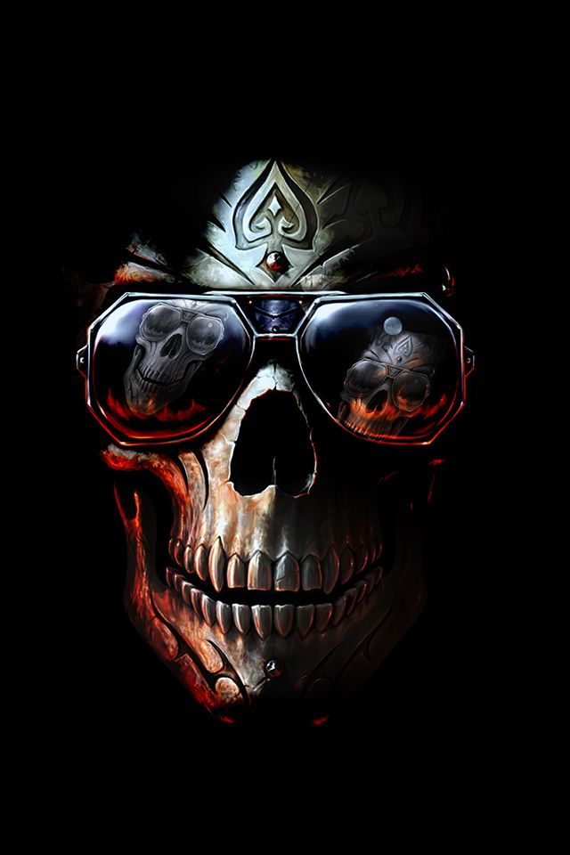 Wallpaper Skull Posted By Zoey Sellers