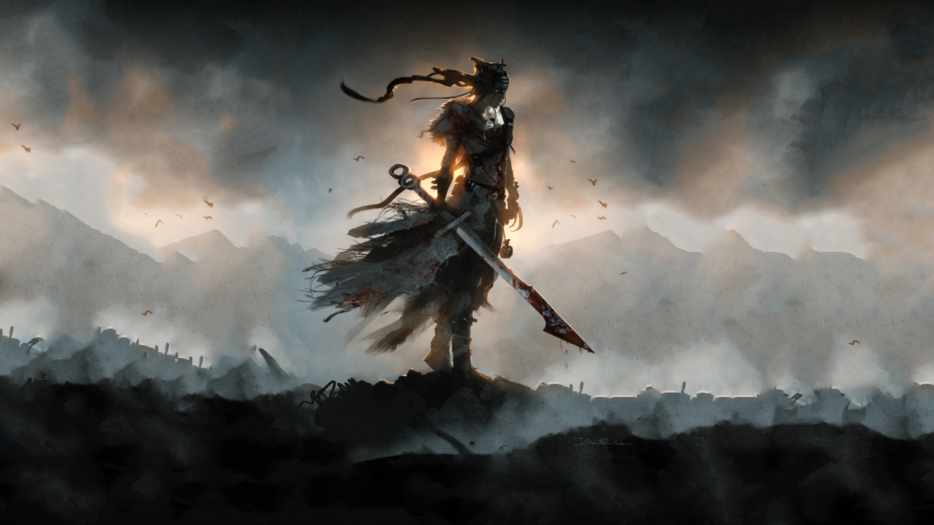 Wallpaper Warrior Posted By Sarah Anderson