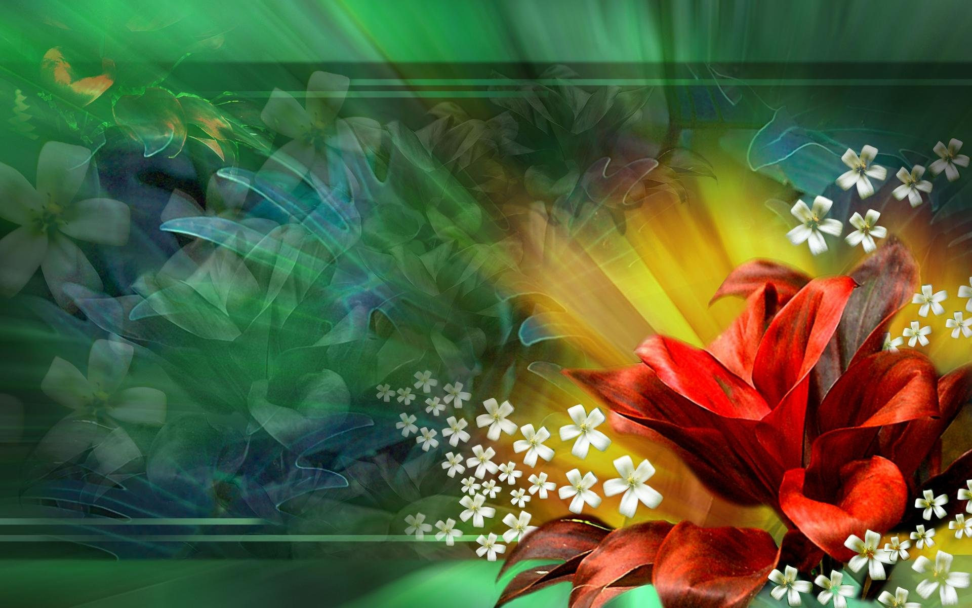 3D Flower Abstract Wallpaper Live 4K Wallpapers