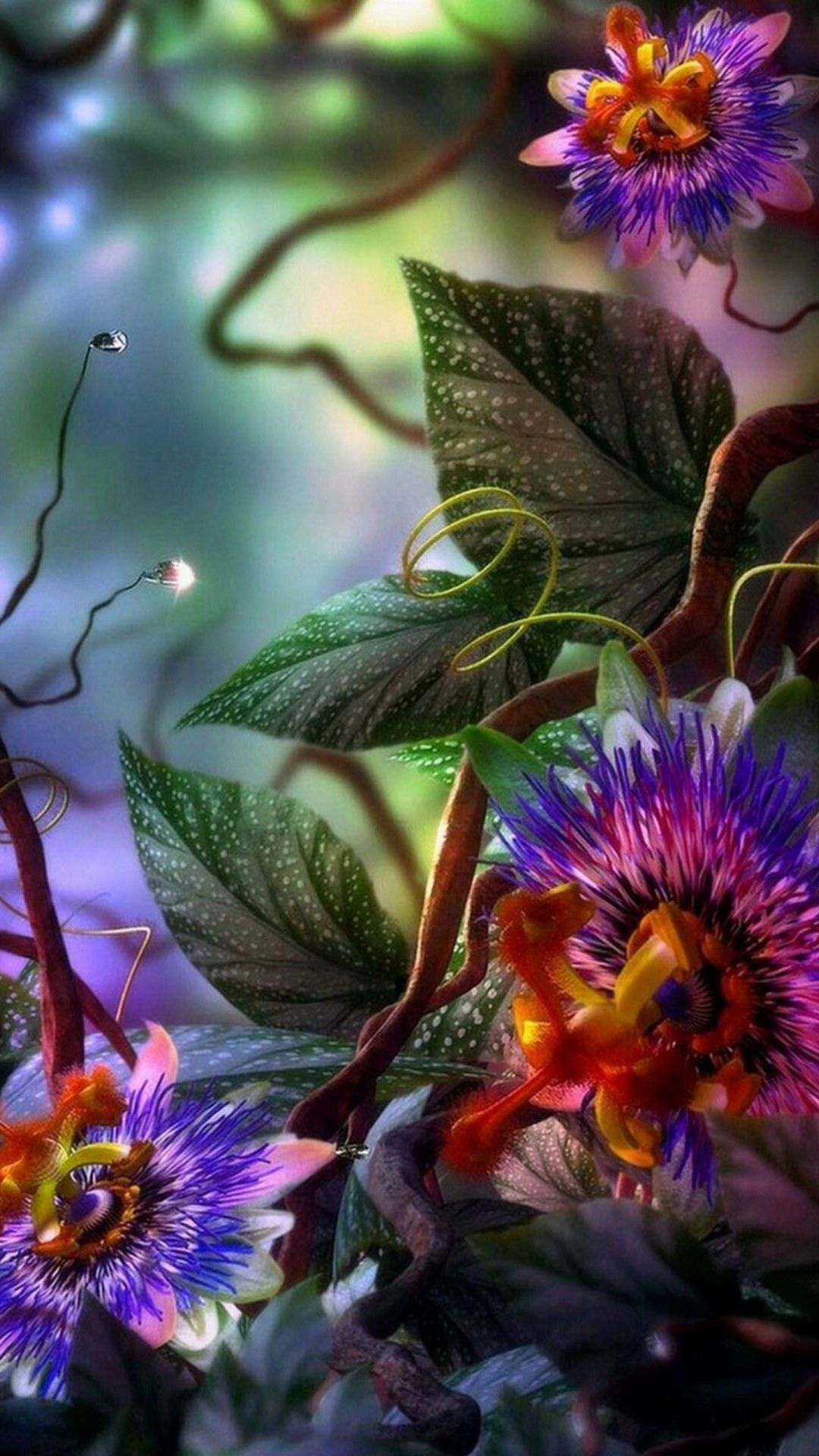 Wallpaper 3d Flower Mobile 3d Hd Wallpapers Flowers, Hd