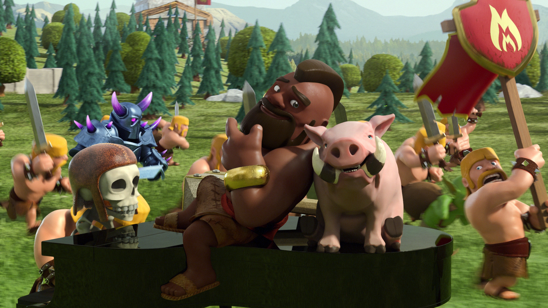 Wallpapers Clash Clans Posted By John Simpson