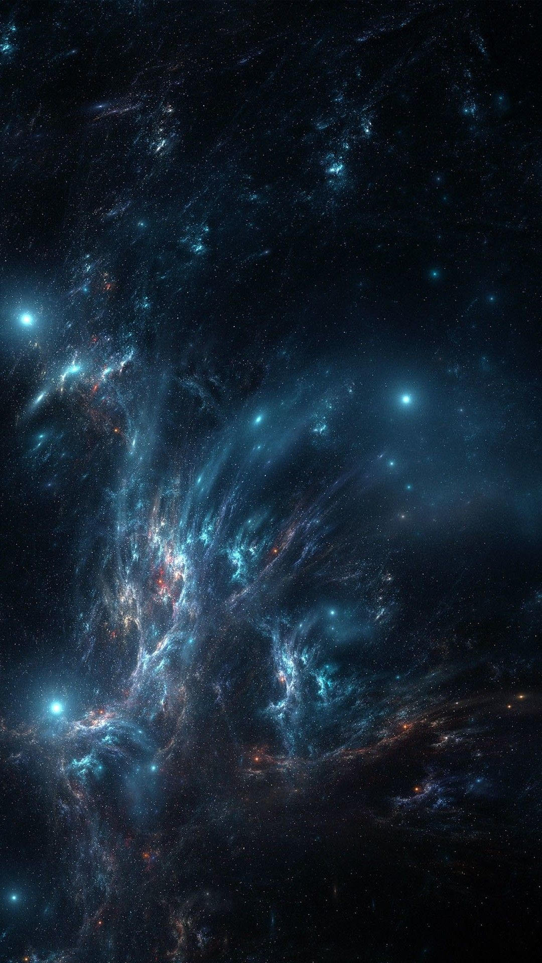 75+ Blue Galaxy Wallpapers on WallpaperPlay