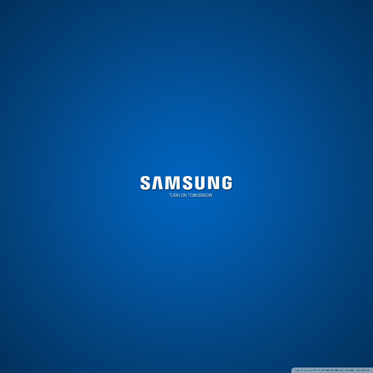 Samsung Turn On Tomorrow 4K HD Desktop Wallpaper for 4K