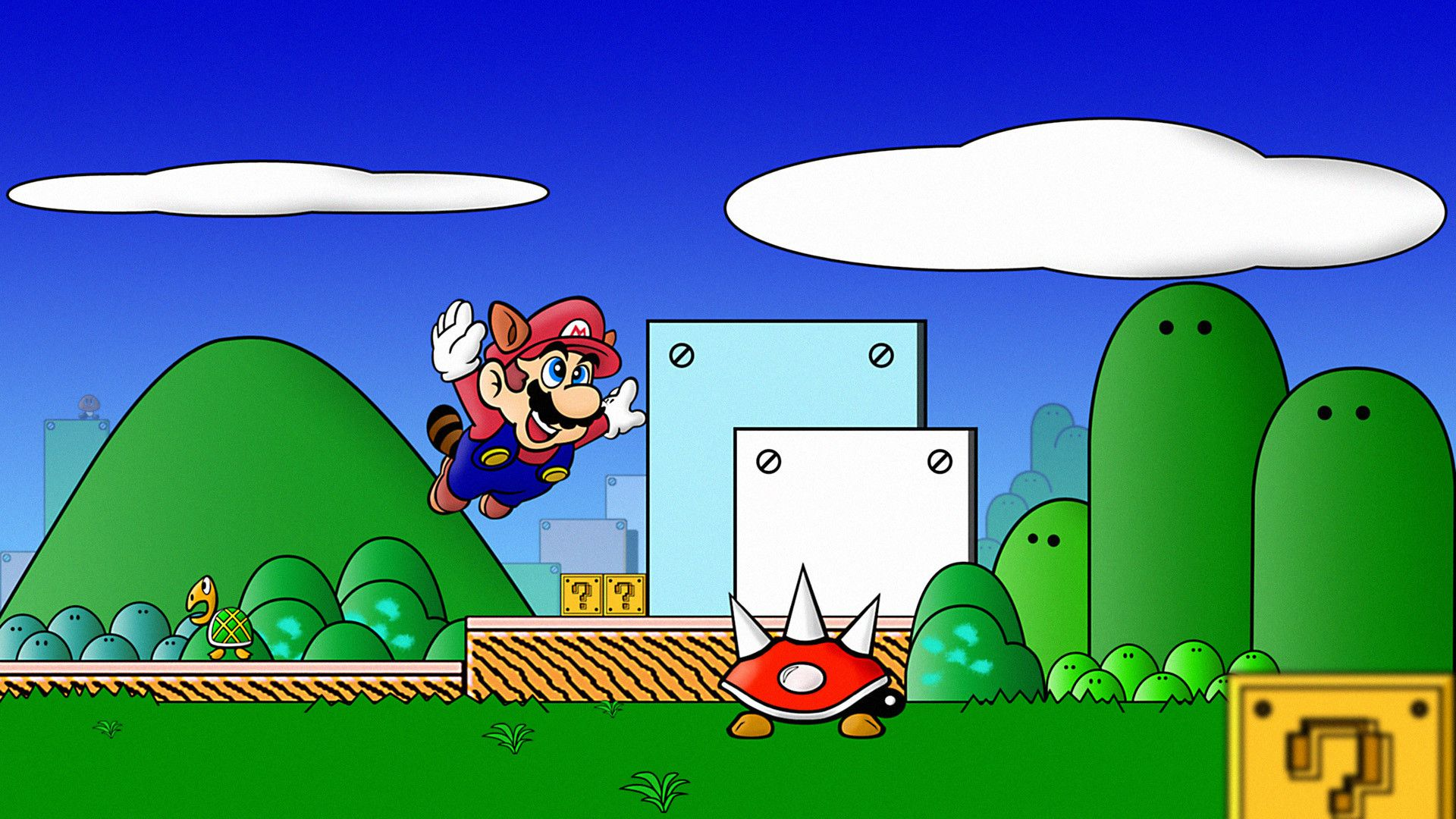 Wallpapers Mario Bros Posted By John Johnson