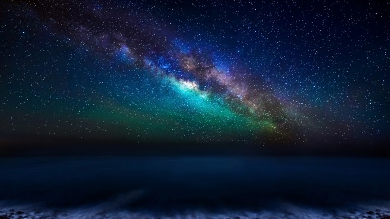 Milky Way Galaxy from the Canary Islands HD Wallpaper