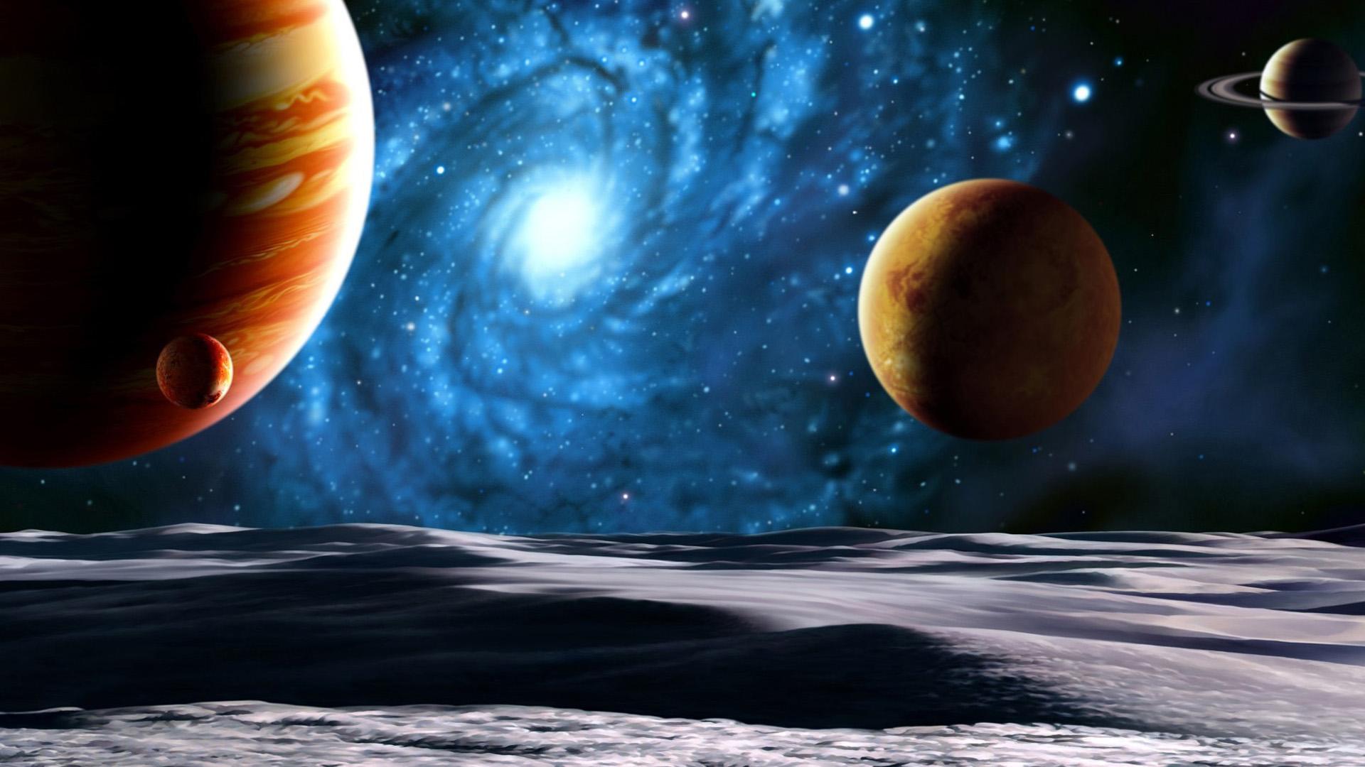 1080p Space Art Background Desktop Wallpapers Planets