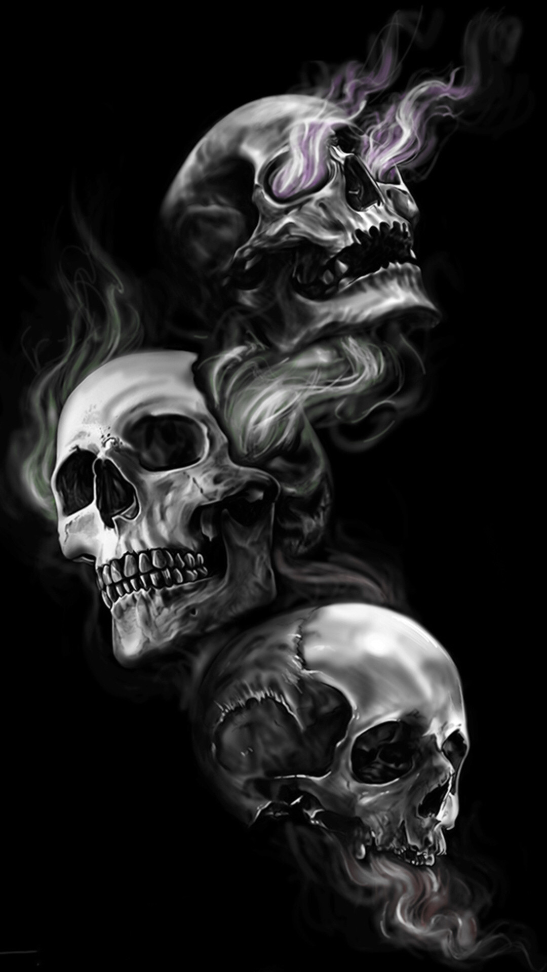 Wallpapers Of Skull Posted By Zoey Simpson