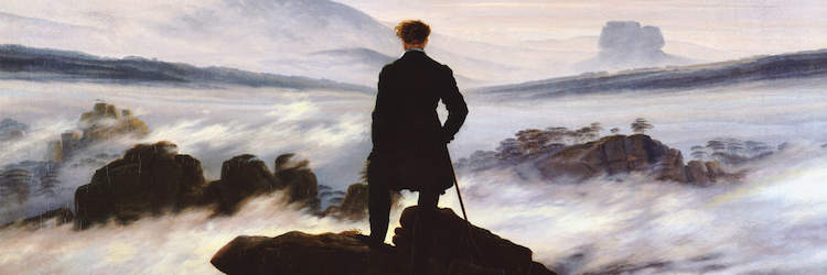 Wanderer Above The Sea Of Fog Wallpaper Posted By Christopher Sellers