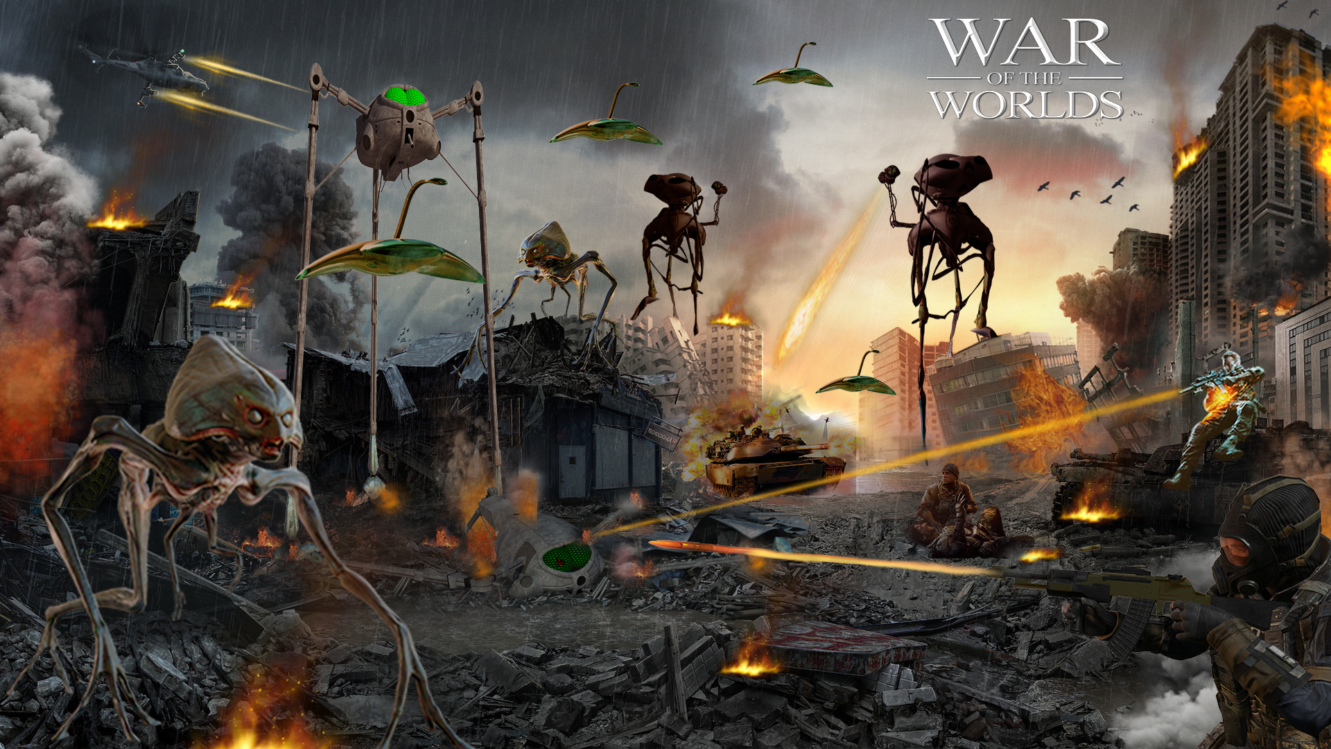 War Of The Worlds Wallpapers Posted By Sarah Thompson