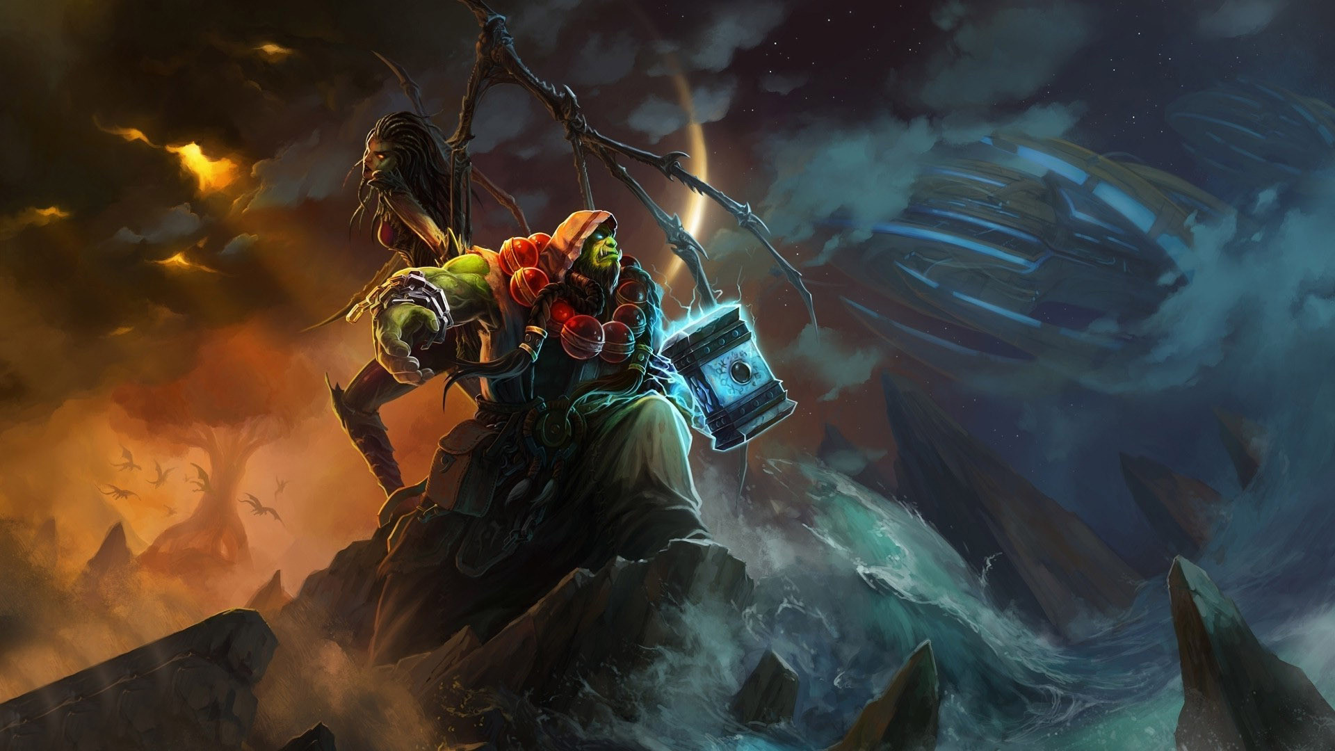 Warcraft 3 Wallpapers Posted By Sarah Simpson