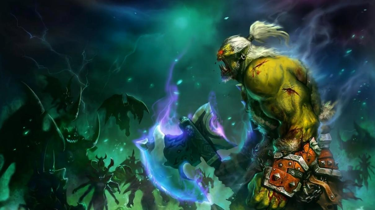 warcraft orc warrior art