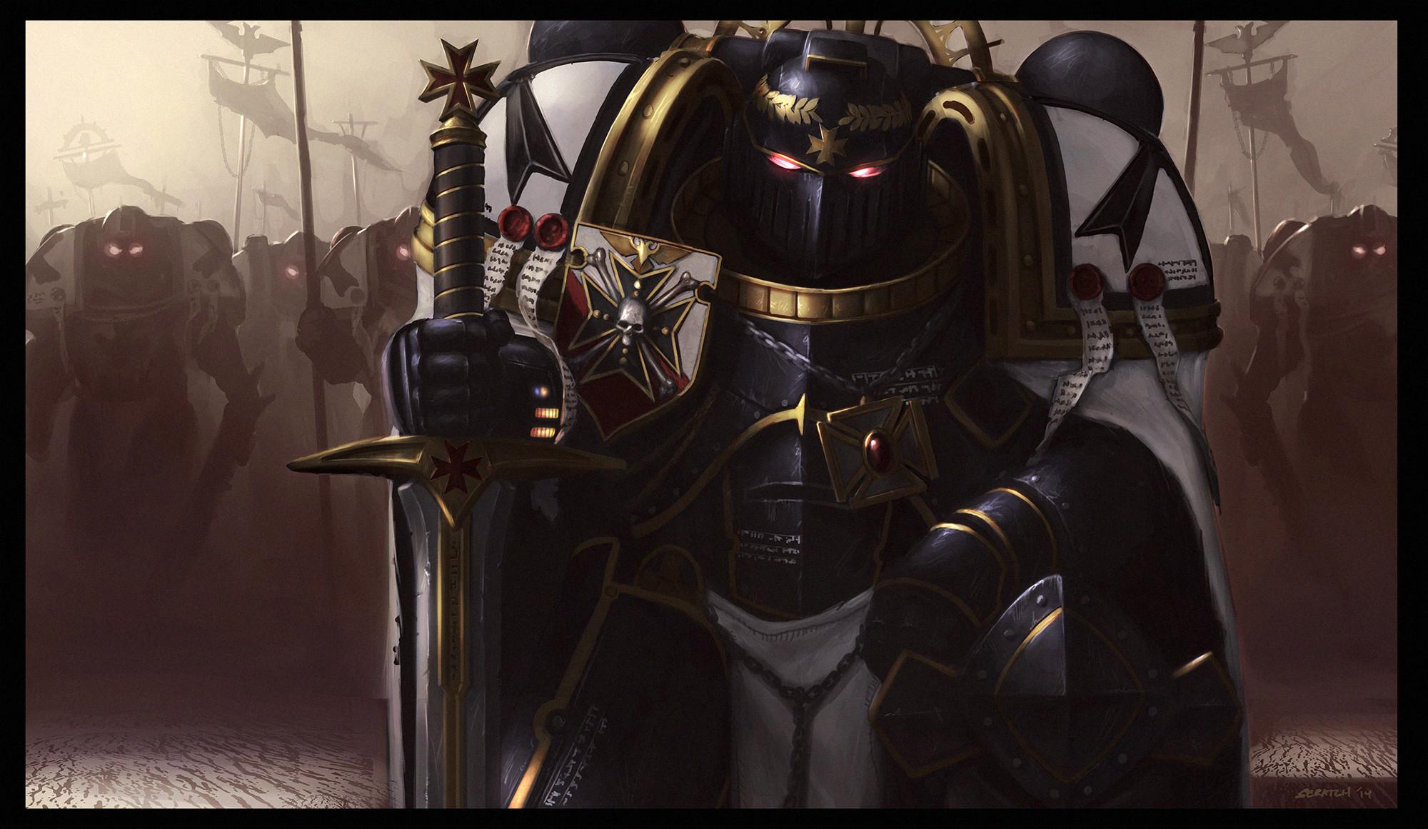 Warhammer 40k Black Templars Wallpaper Posted By John Simpson
