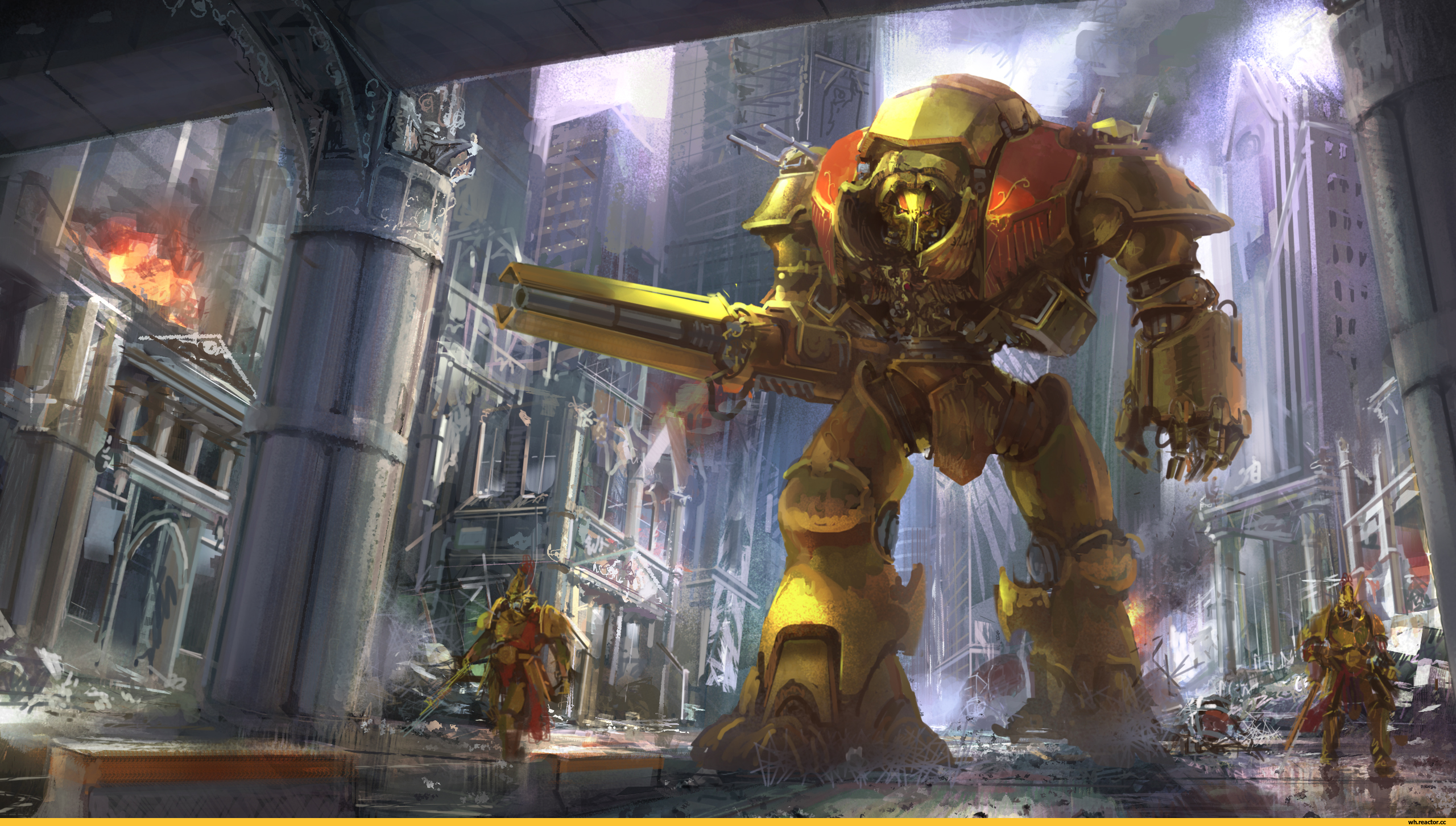 Warhammer 40k Wallpaper 4k Posted By Christopher Thompson