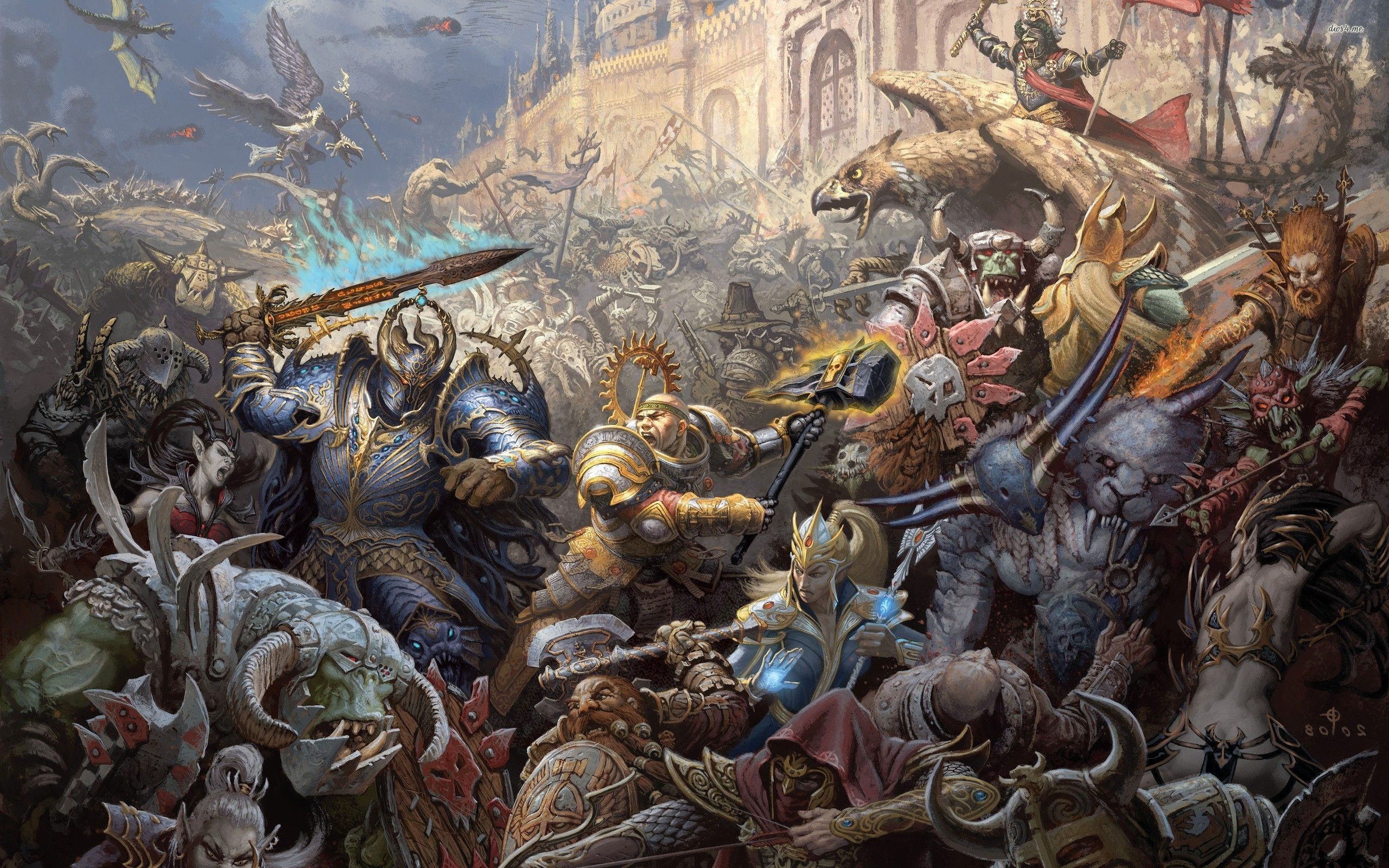 Warhammer Age Of Sigmar Wallpaper Posted By Christopher Cunningham