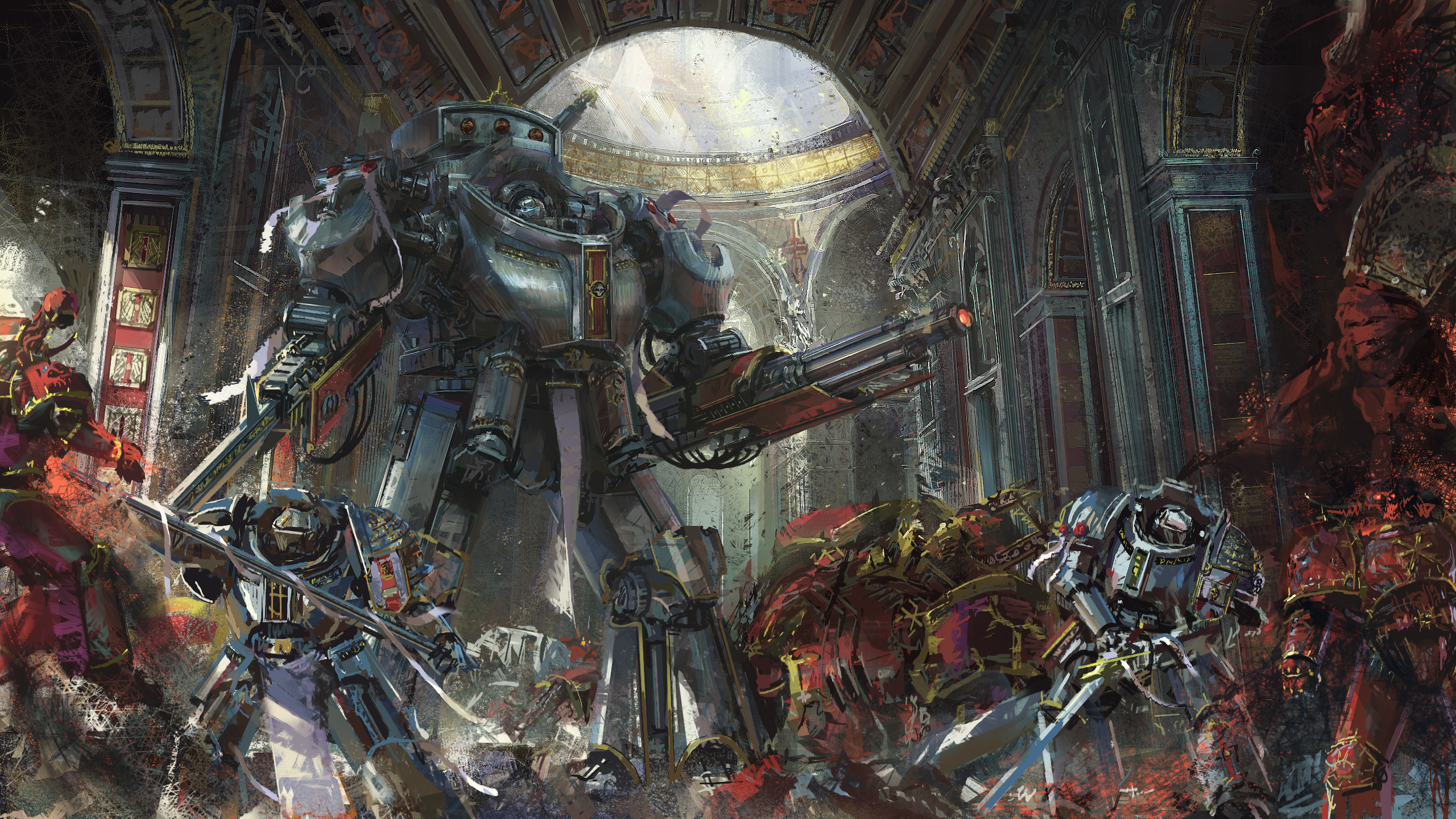 Warhammer Hd Wallpaper Posted By Zoey Thompson