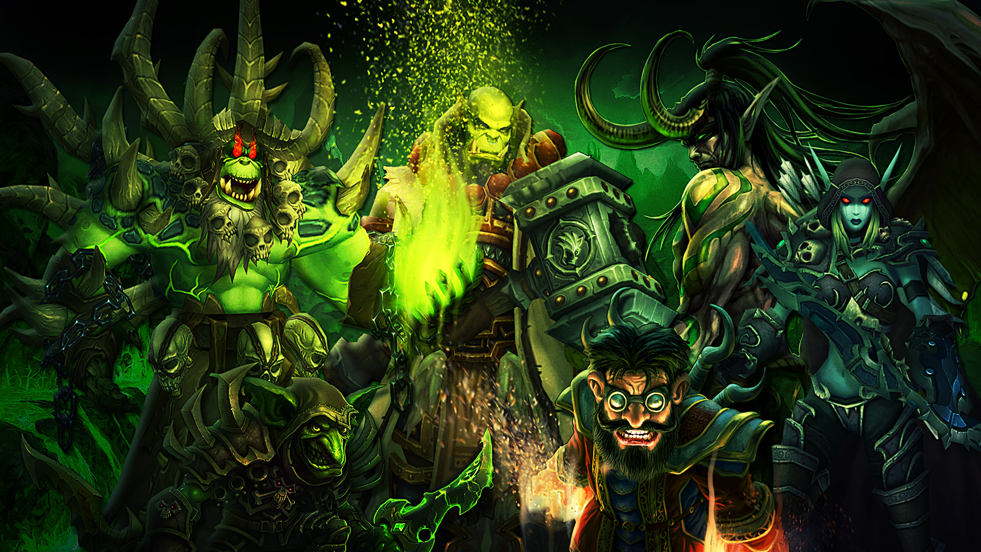 Warlock Wallpaper Wow Posted By Ethan Sellers