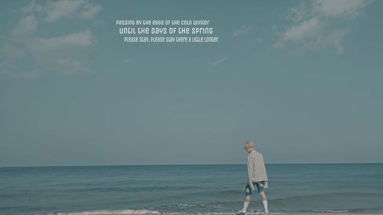 Bts Horizontal Wallpaper Aesthetic ~ Quotes and Wallpaper G