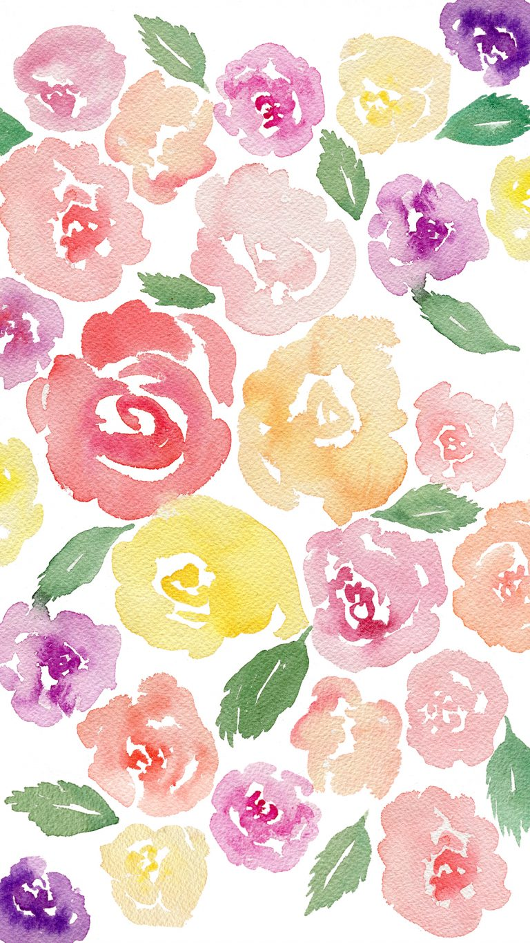 Watercolor Wallpaper Desktop posted by Zoey Simpson