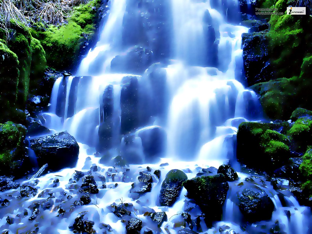 Waterfall Wall Paper Posted By Samantha Tremblay