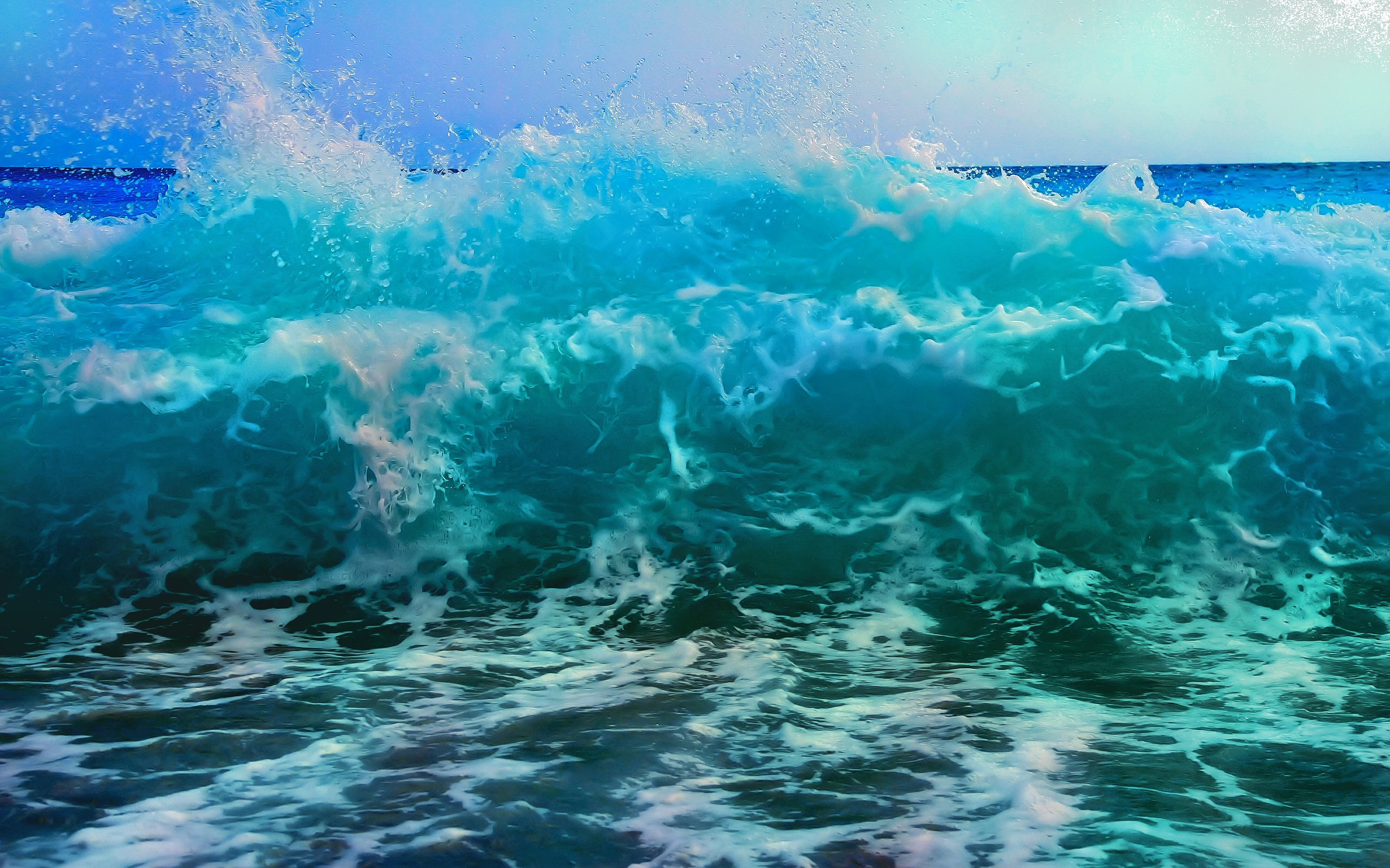 Waves Desktop Wallpaper Posted By John Thompson