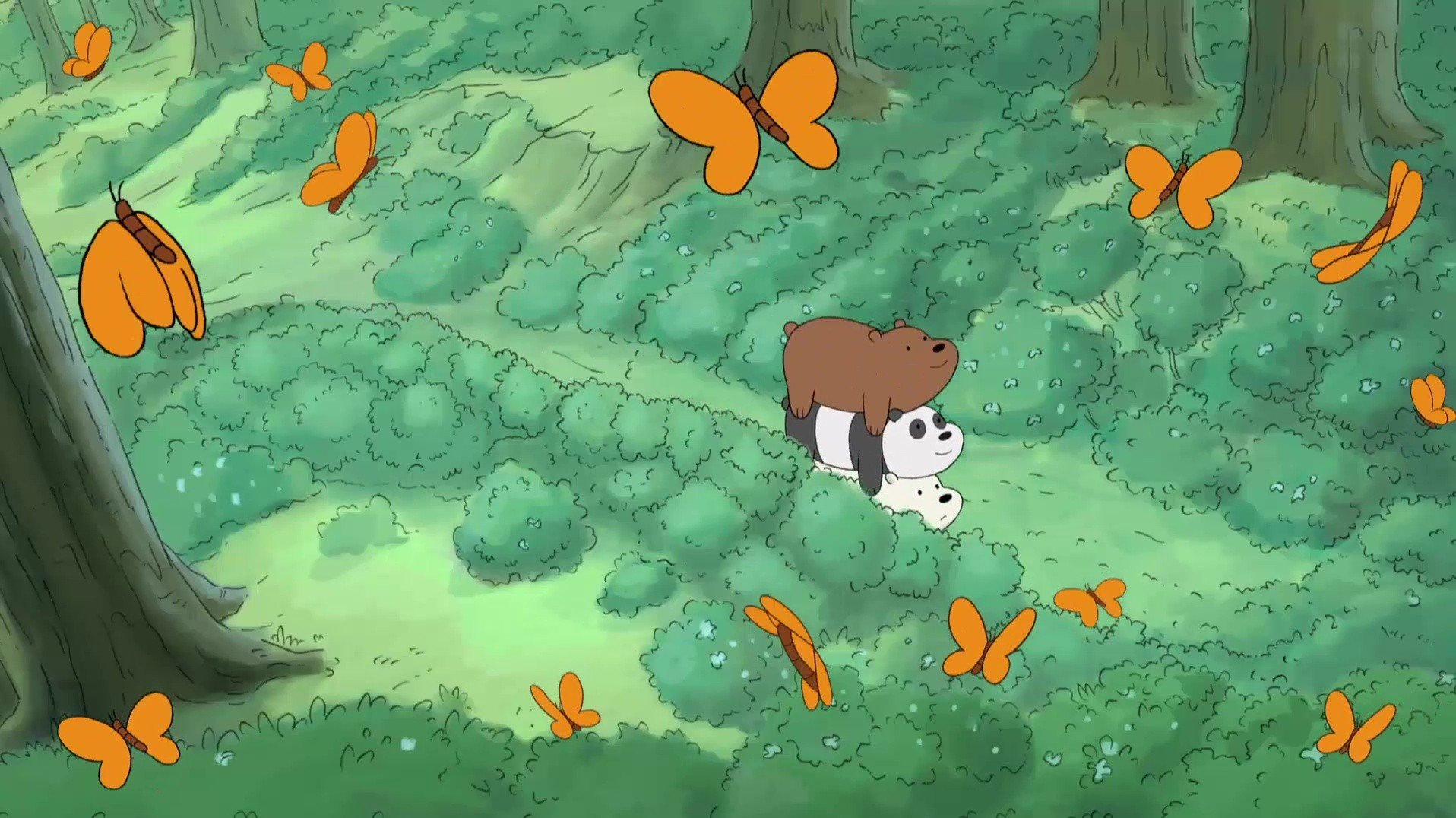 We Bare Bears Backgrounds Posted By Ryan Sellers