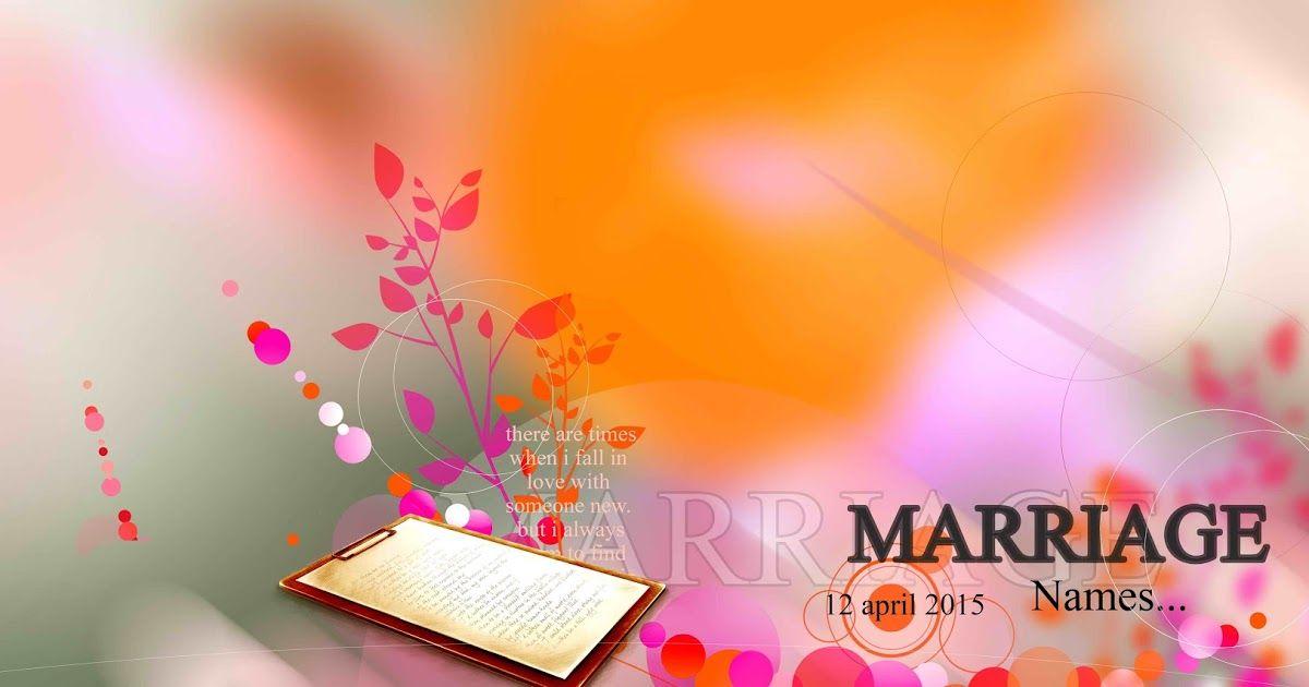 Wedding Flex Background Design Psd Free Download لم يسبق له مثيل