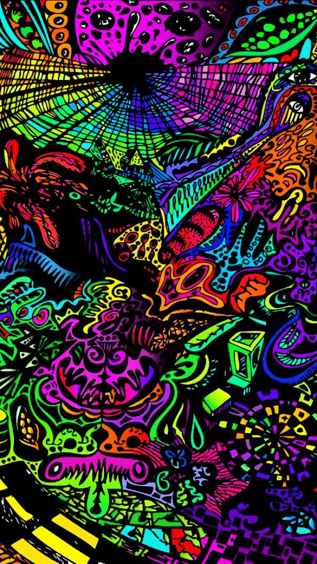 Trippy Weed iPhone Wallpapers Phone Wallpapers