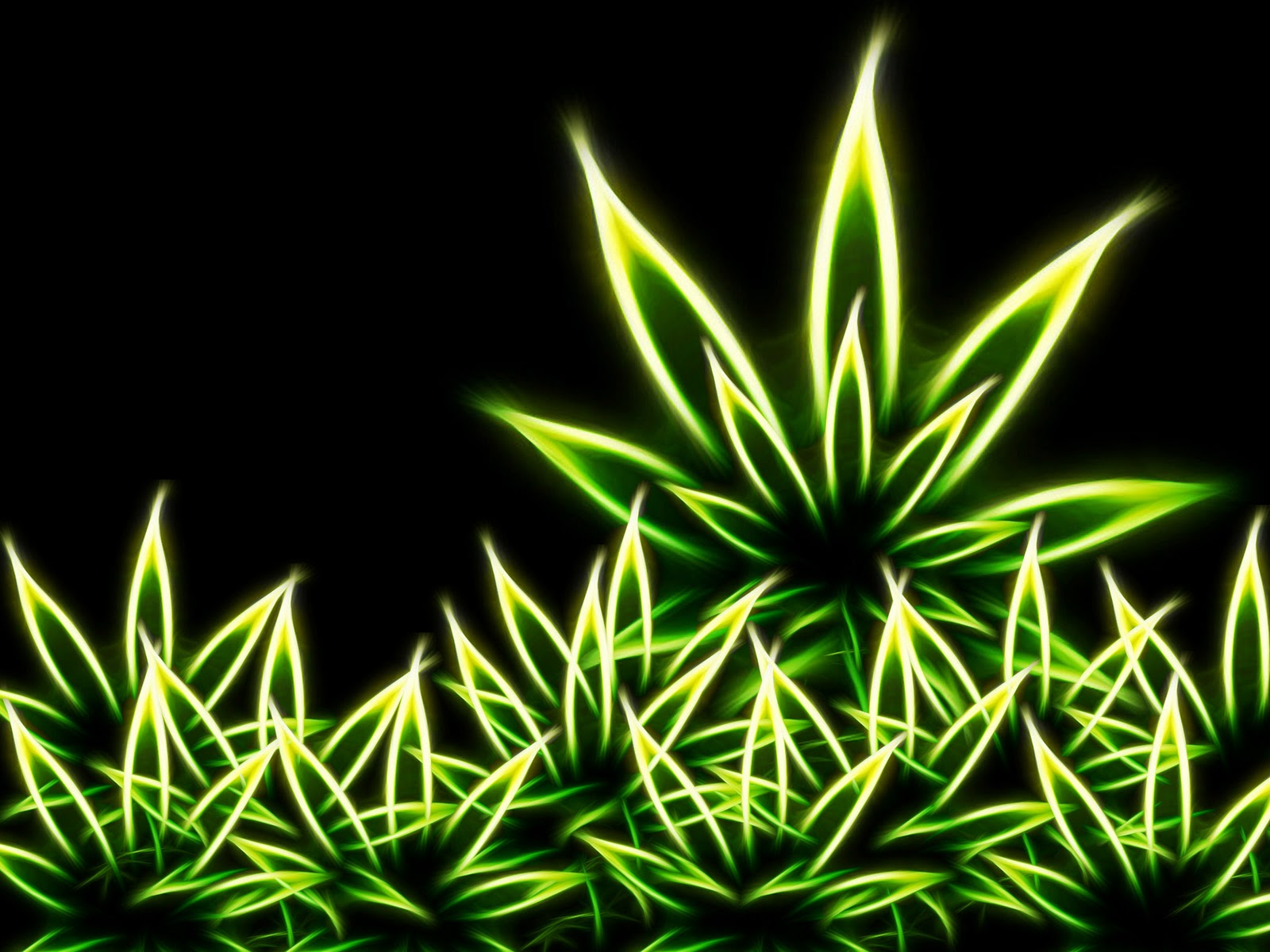 Animated Weed Wallpaper