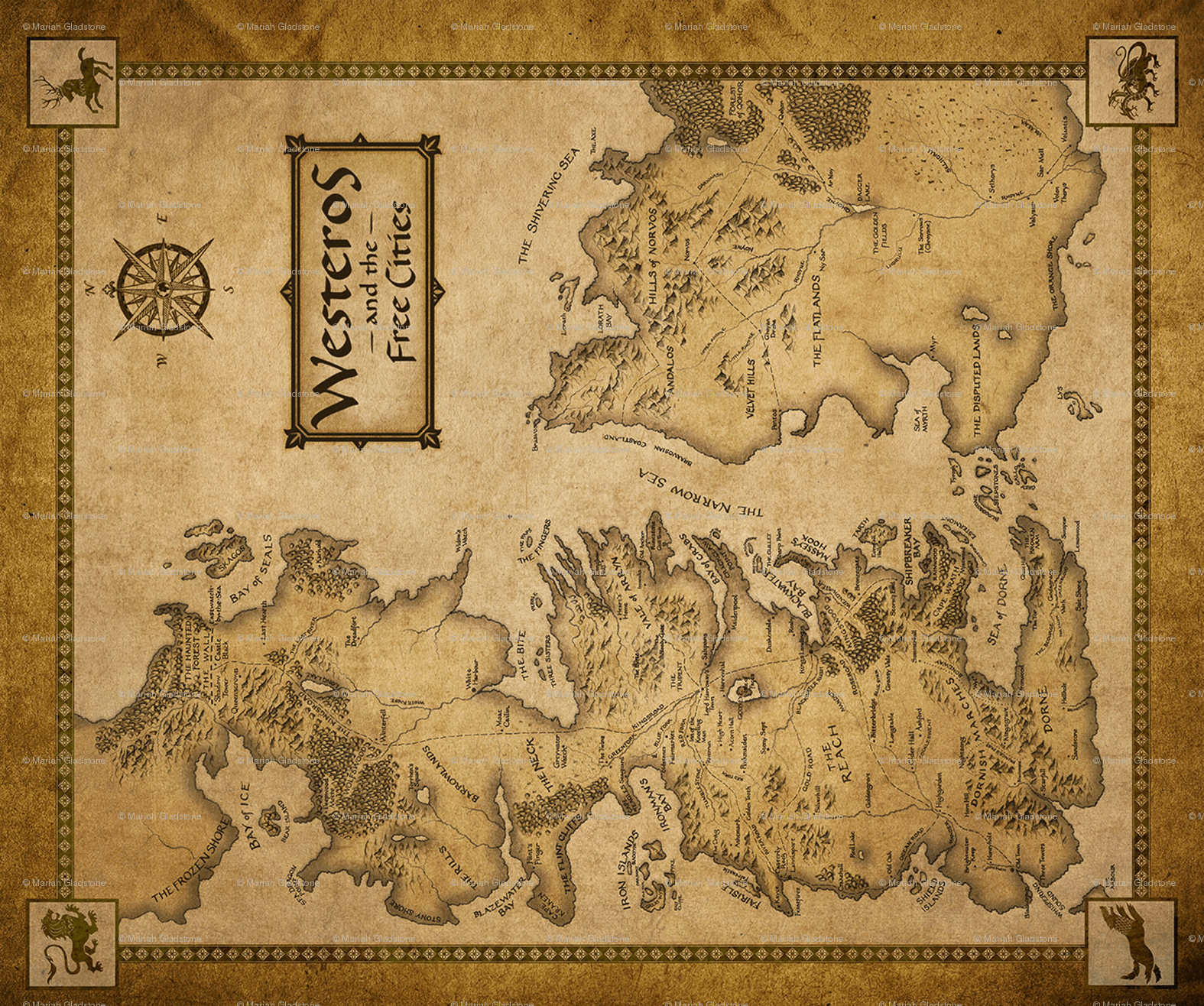 Westeros Wallpapers Posted By Sarah Mercado