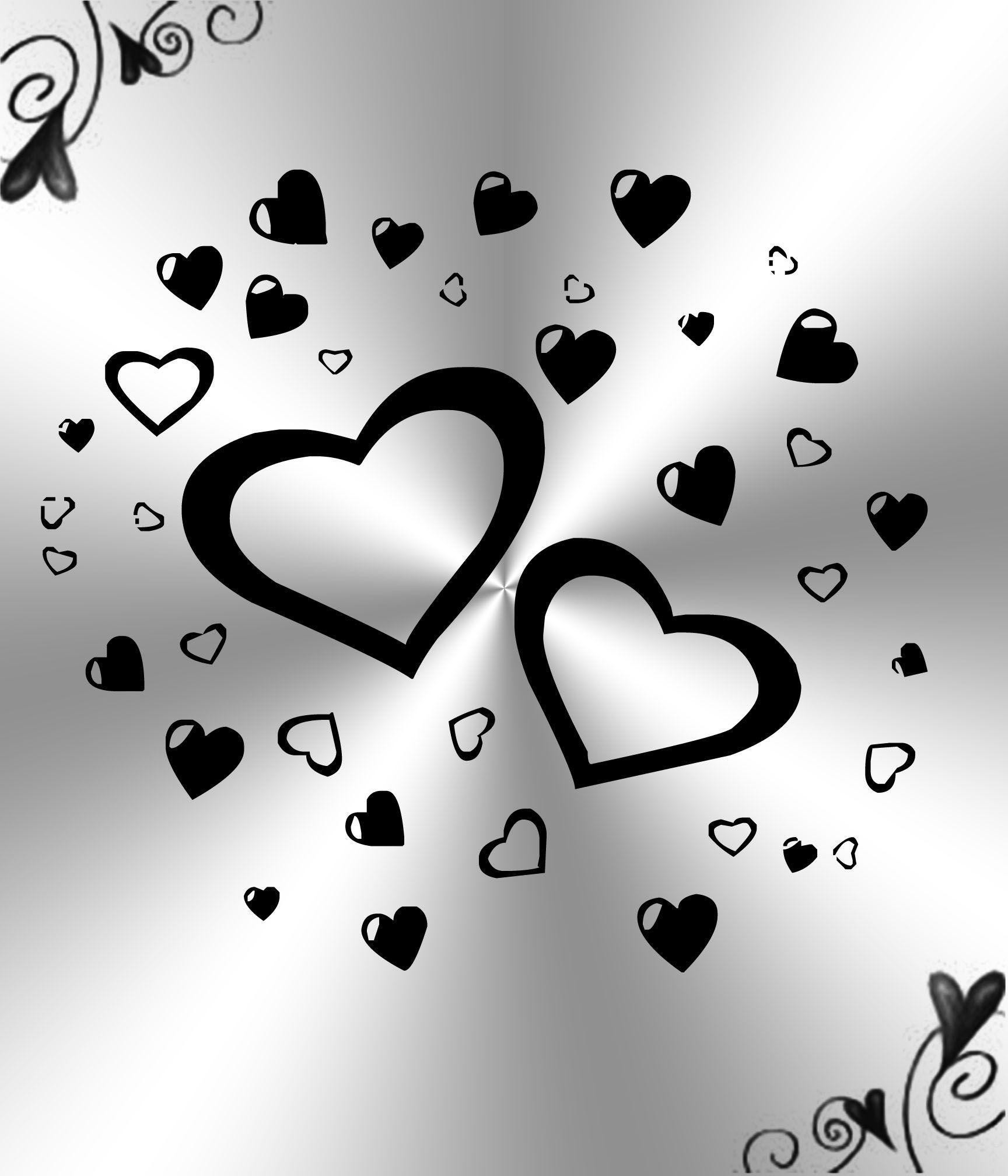 White Heart Background Posted By Sarah Cunningham