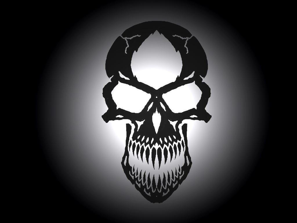skull wallpaper posted by michelle thompson
