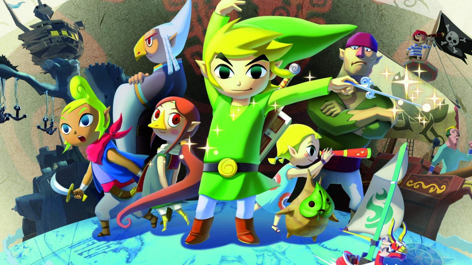 Wind Waker Background