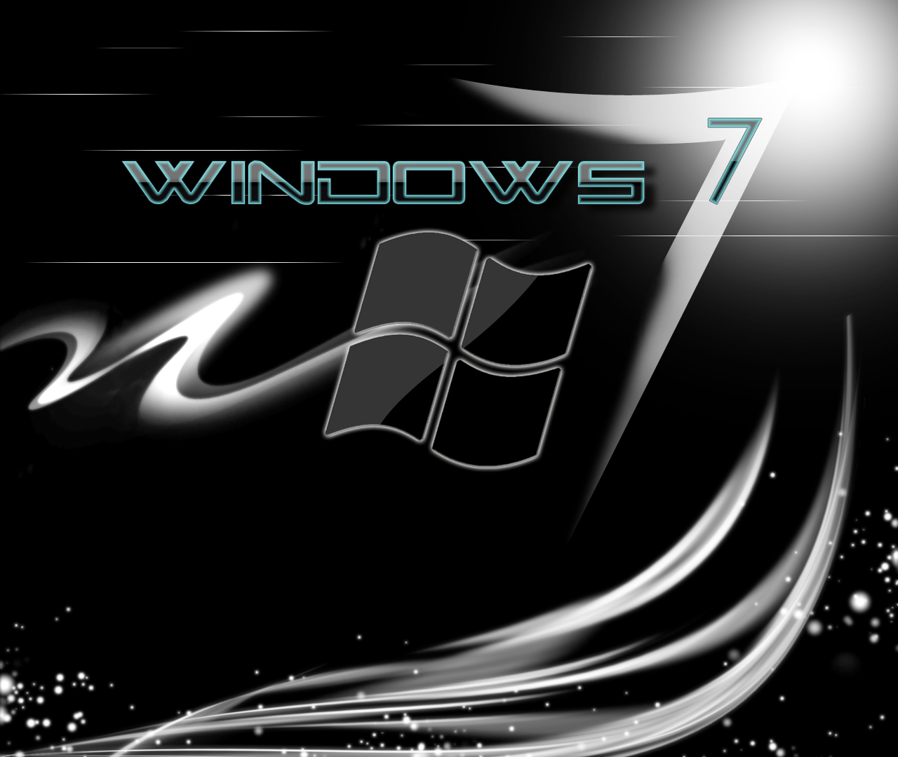 Windows 7 Black Wallpaper Posted By John Anderson