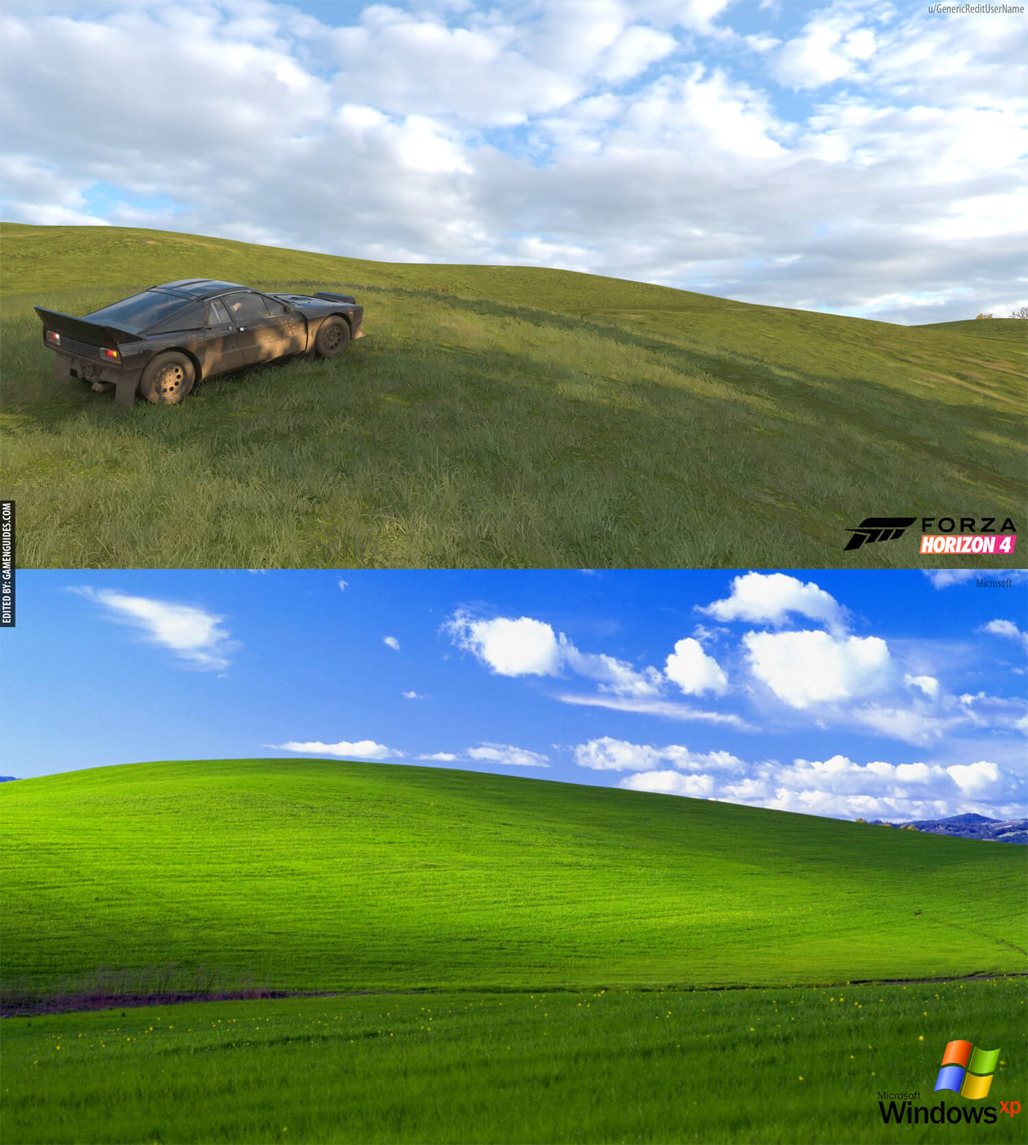 Windows Xp Bliss Location Posted By Ethan Johnson
