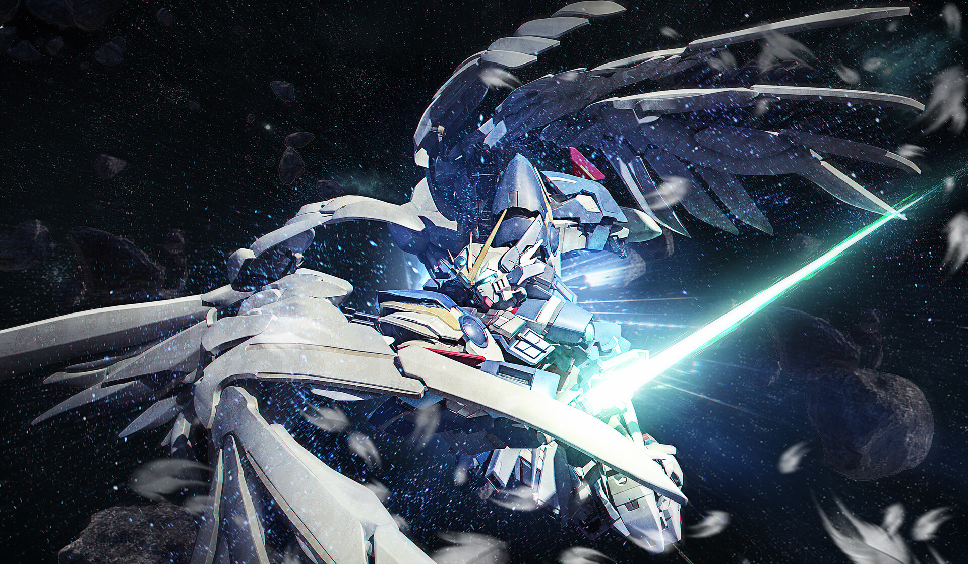 Wing Gundam Wallpaper Posted By Ryan Anderson