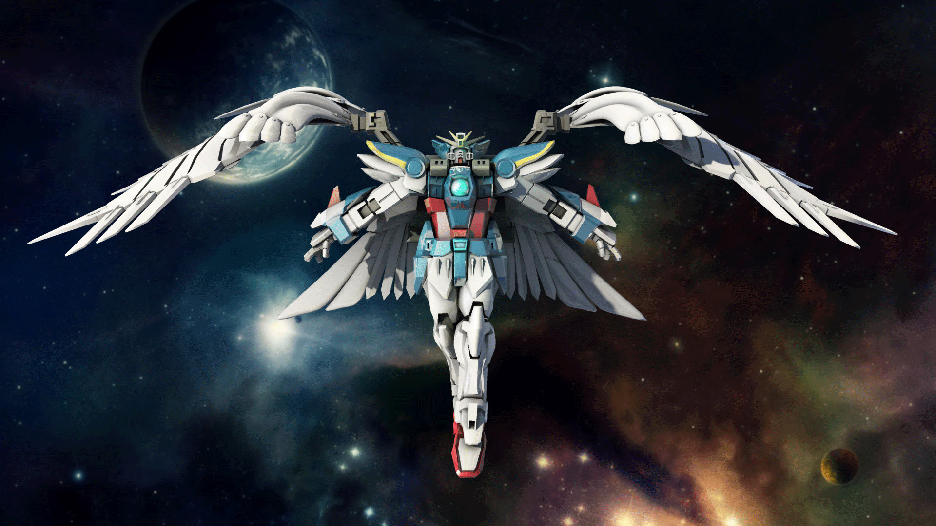 Wing Zero Wallpaper Posted By Samantha Tremblay