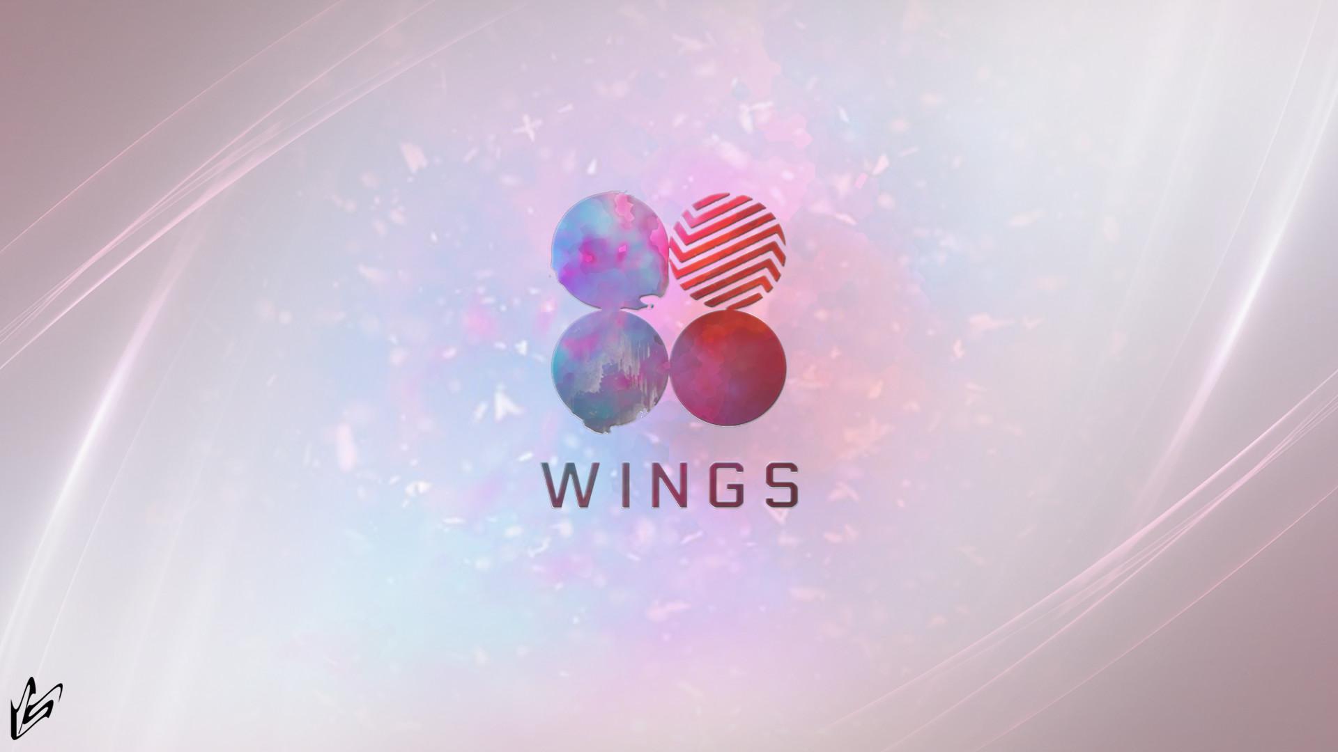 13+ BTS Wings Logo Wallpapers on WallpaperSafari