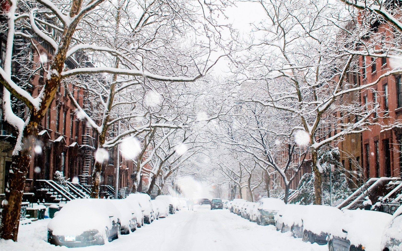 Winter City Wallpaper Posted By Sarah Mercado