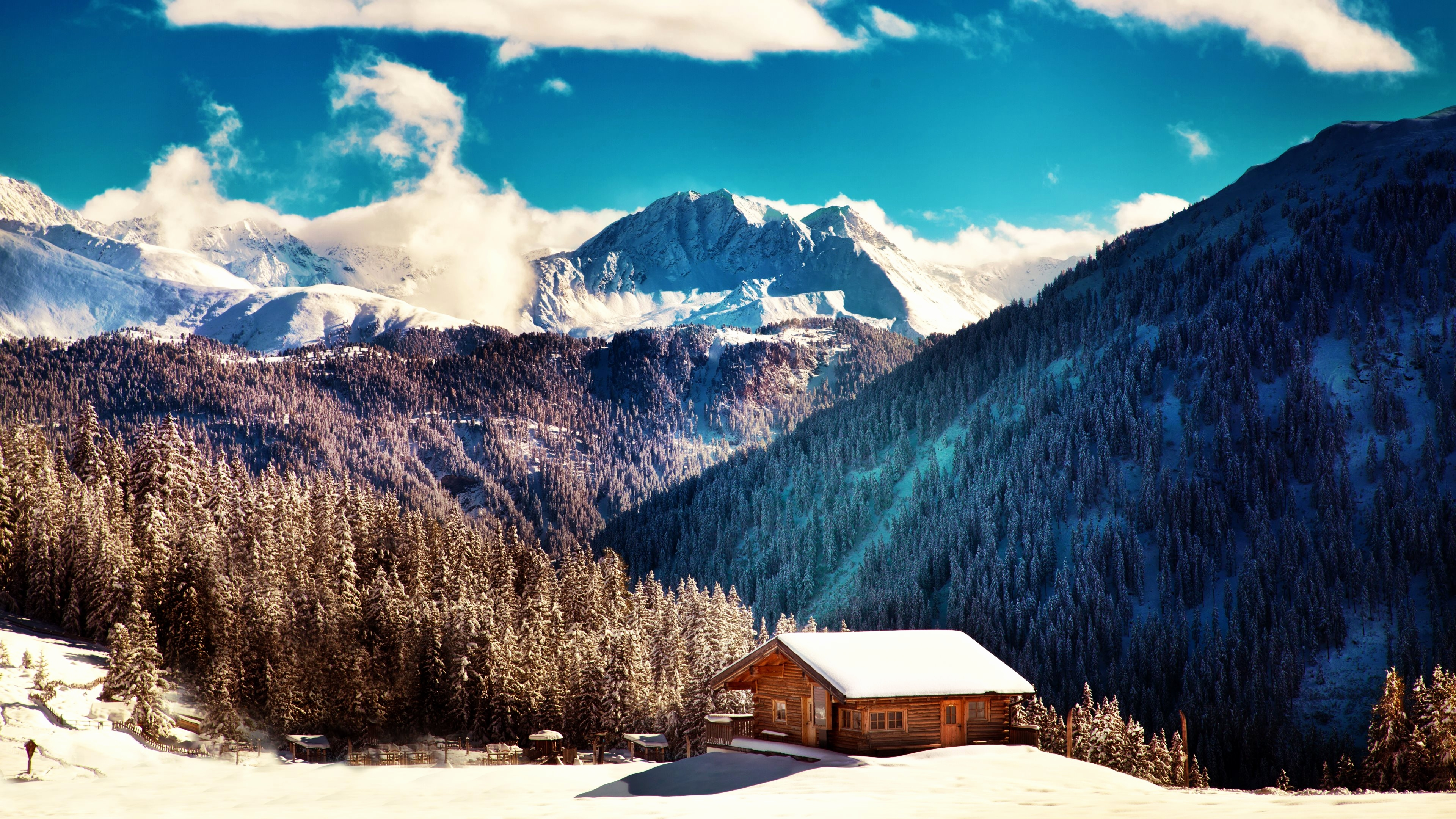 Winter Mountain Desktop Backgrounds Posted By Ryan Simpson