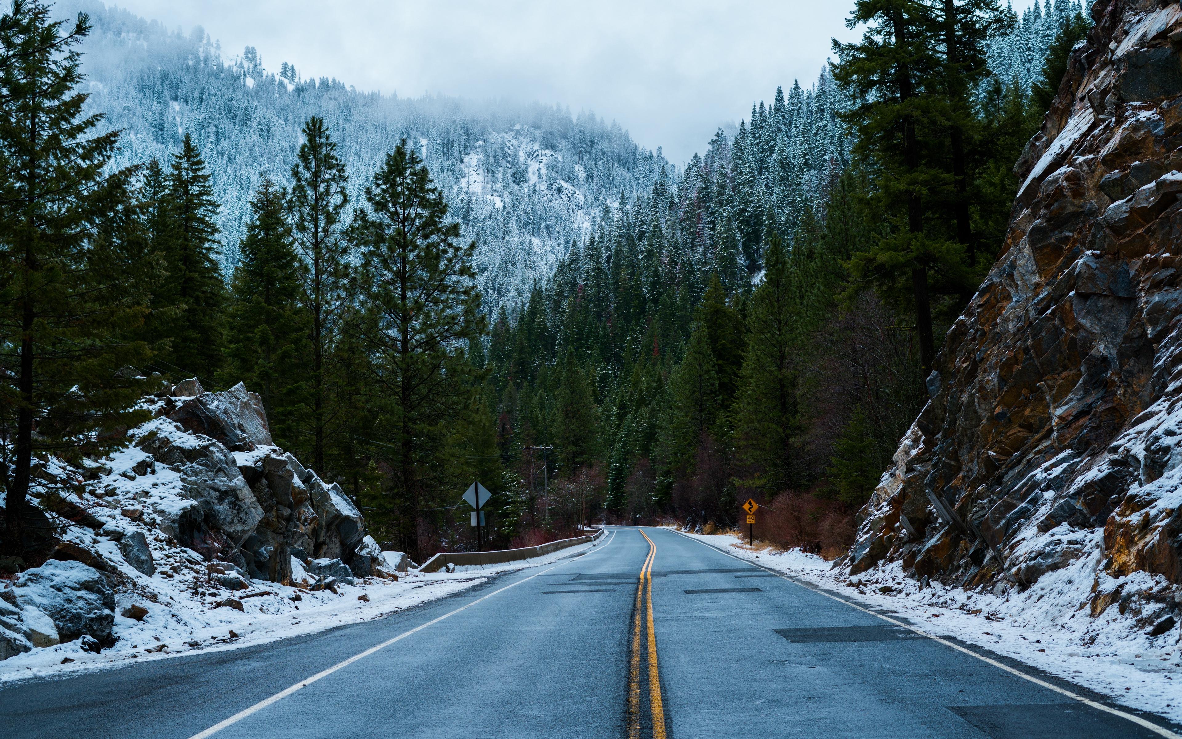 Winter Wallpaper 4k Posted By Ryan Walker