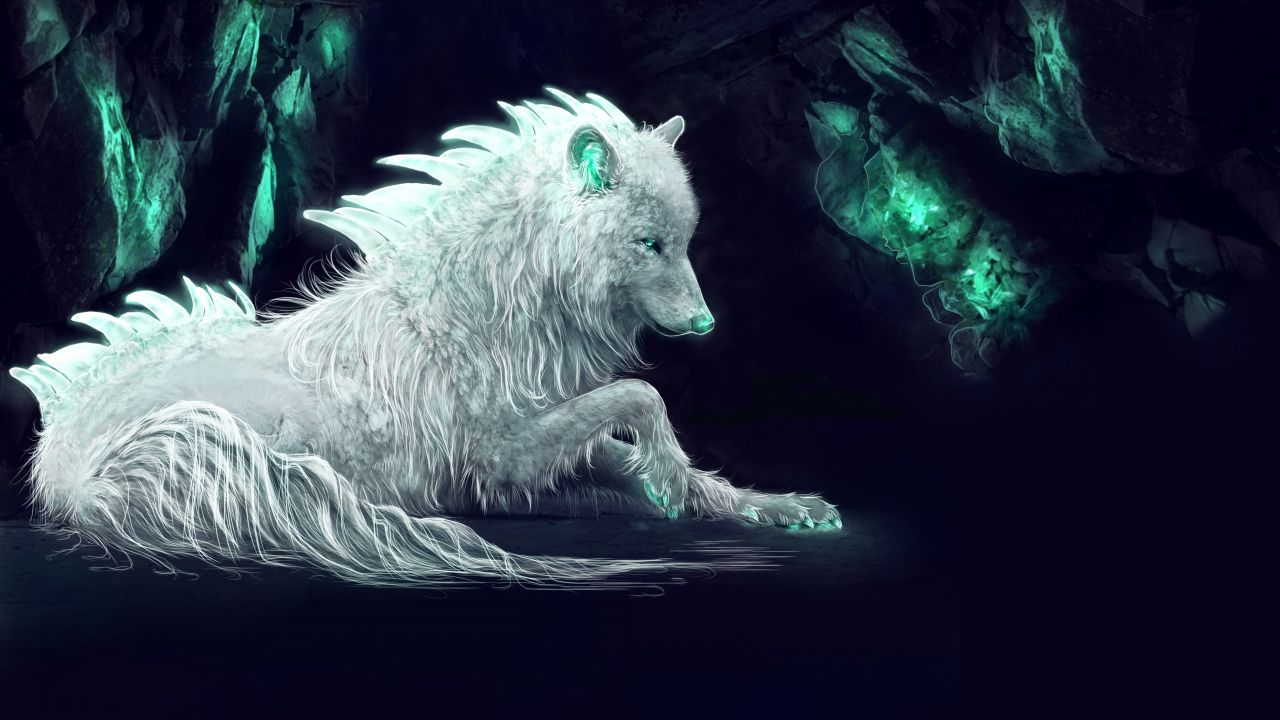 Winter Wolf Wallpapers Posted By Samantha Simpson