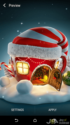22 Free Christmas Live Wallpapers with HD, 3D or Music