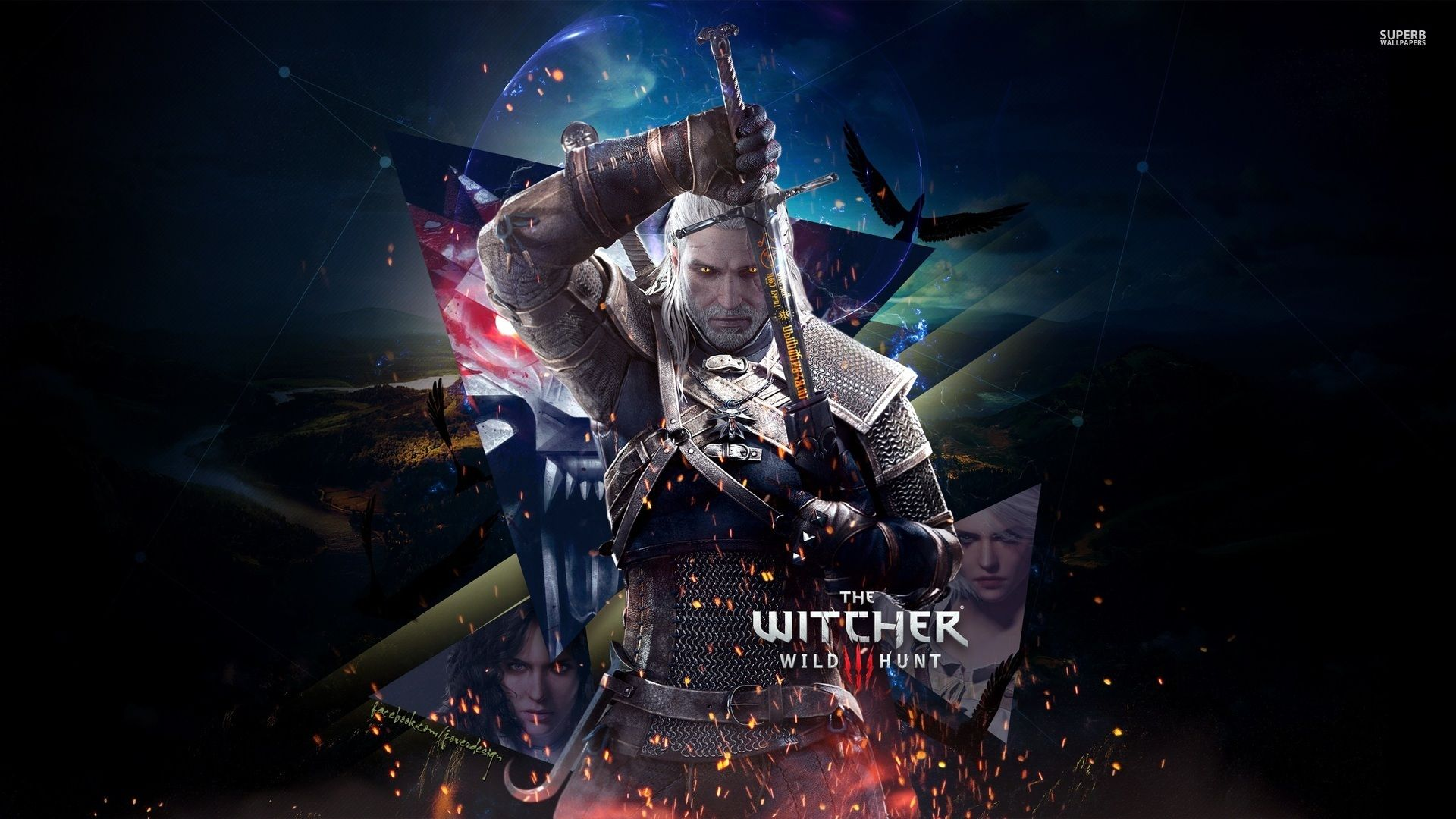 Witcher 3 Geralt Wallpaper Posted By Sarah Sellers