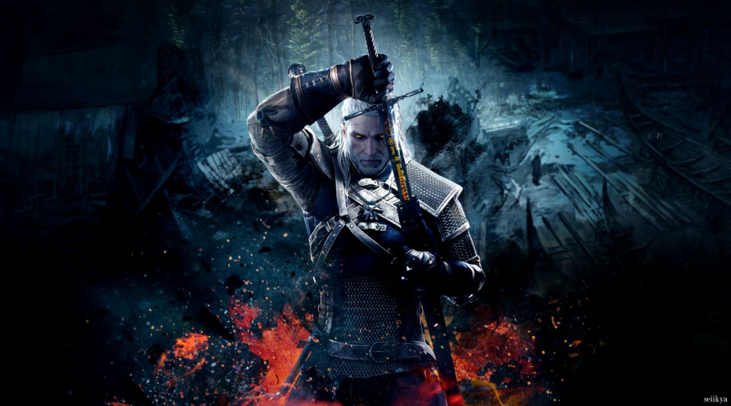 Witcher Wallpaper Posted By Zoey Peltier